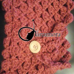 torial de costura_cuello en punto diamante_crochet diy