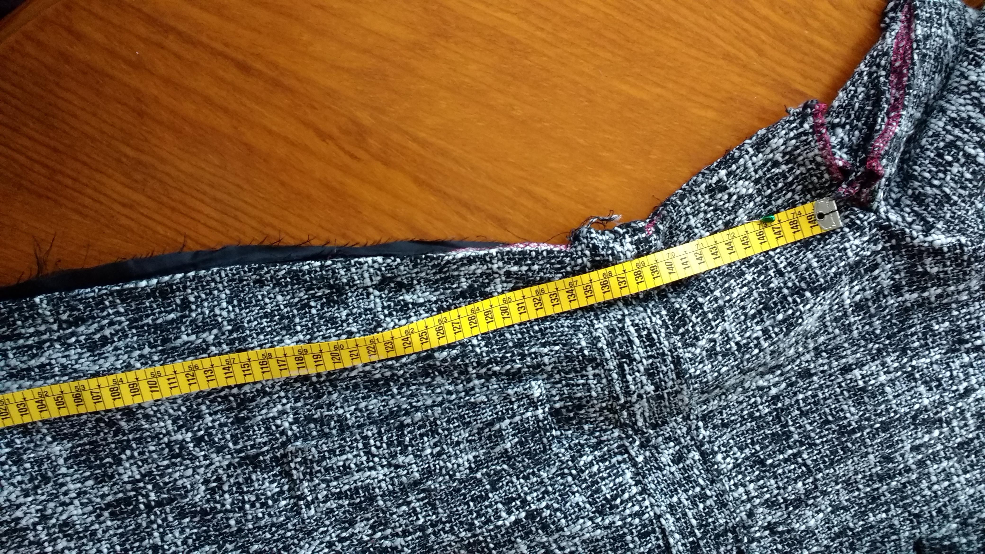 tutorial de costura_medir cuanto sobra_