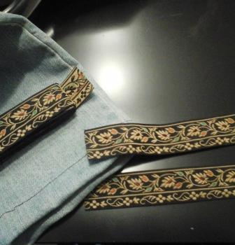 Aprender a Customizar Ropa: Ajustar Pantalón Vaquero y ponerle bajo