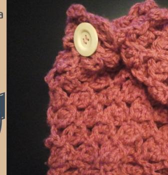 Tejer Cuello de Lana en punto Diamante – Crochet DIY –