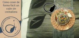 Cómo coser un Cojín sin cremallera – La Técnica es muy fácil