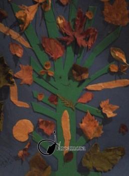 Goma Eva Fácil paso a paso: Árbol Otoñal para Niños
