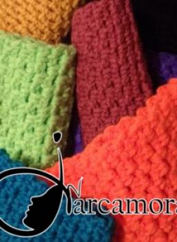 Técnica para tejer una Bufanda Calada con punto Reja – Crochet DIY –
