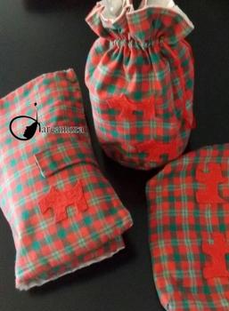 Tutorial de Costura: Cambiador de pañales y bolsa para biberón