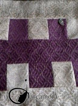 Cómo coser un Cojín con Búcho con Técnica de Patchwork