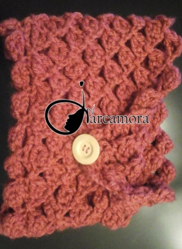 Tutorial de Costura: Cuello Lana en punto Diamante – Crochet DIY –