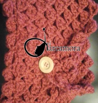 Tejer Cuello Lana en punto Diamante – Crochet DIY –