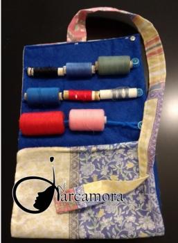 Tutorial de costura: Práctico Estuche Organizador de hilos